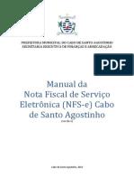 Manual NFSe Cabo S Agostinho