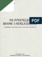 Islamizacija Bosne i Hercegovine i porijeklo bosansko-hercegovačkih muslimana - Mehmed Handžić