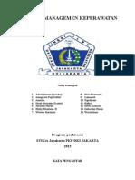 Laporan Management Keperawatan - Copy