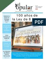 El Popular 333 Órgano de Prensa Oficial del Partido Comunista de Uruguay