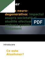 Boala Neuro Degenerativa