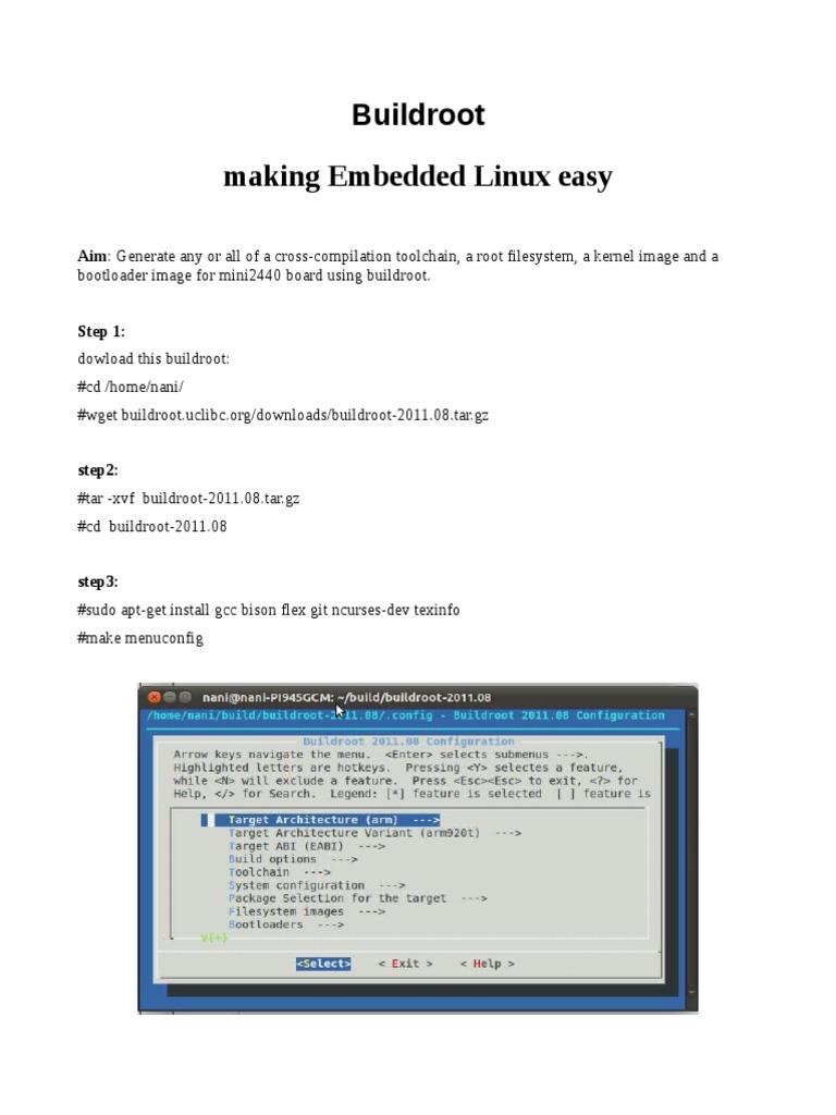Build Root | File System | Unix Variants