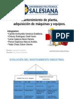 Mantenimiento de Planta_adquisicion de Maquinas y Equipos