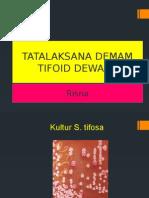 Tatalaksana Demam Tifoid Dewasa Mima