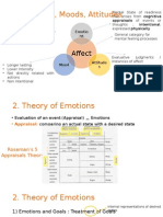 Theory of Emotions