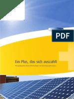 SonnenPlus Unternehmensbroschüre