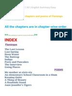 Flamingo Class 12 ( XII ) English Summary Easy[1]