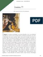 A Metodologia Tomista ~ A VIDA SACERDOTAL