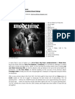 Mode Nine - Da Vinci Mode -Naija's Listening e.a.r.