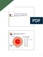 soil Composition Structure Classification