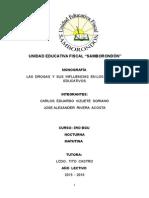 Monografia Las Drogas y Su Incidencia en Los Centros Educativos