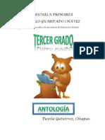 Antología Tercer Grado 2015