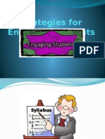 Strategies for Engaging Students