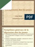 La Depression Chez Les Jeunes-LornaMartin ConsultanteEducationManitoba