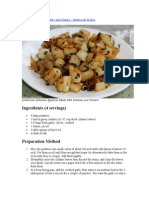 Potatoes Sauted With Garlic and Cilantro