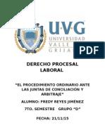 Conceptos de junta de conciliacion y arbitraje Mexico