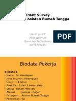 PPT Tugas Kedokteran Keluarga Plant Survey