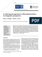 A Multi-layered Approach to CRM Implementation - An Integration Perspective