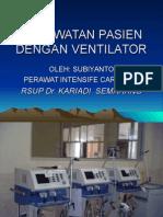 Askep Px Terpasang Ventilator