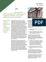 Deloitte Ingresos Ordinarios Servicios Financieros - Abril 2012