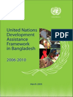 United Nations development assistance program