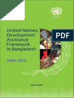 United Nations development assistance program