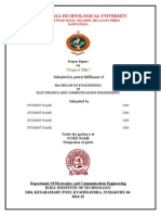 Project Report 2015 Format