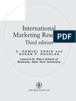 InternationInternational Marketing Research