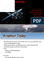 Macro environmental study of Indian Aviation Industry:PEST analysis