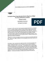 CIAC Report on Berlin Football Recruiting Violations