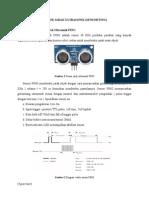 Sensor Jarak Ultrasonik