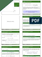 Integración y derivación numerica