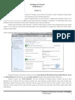 Praktikum Konfigurasi Firewall Di Windows 7