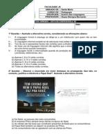 IV Estudo Dirigido_listão de Exercícios Para a2 - Versão Aluno (1)