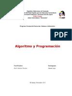 Algoritmo y Programacion - SAMARY