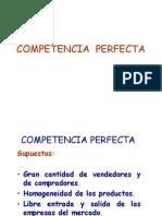 Competencia Perfecta
