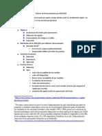 Fuentes de financiamiento Para MIPyMES