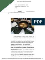 Pemones Preservan Su Gastronomía Exótica en Canaima