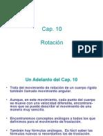 Cap 10 Rotación