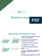 Cap 11 Momentum Angular