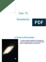 Cap 13 Gravitación