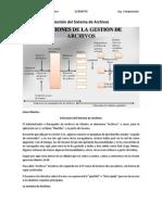 Identificar Gestion Del Sistema de Archivos