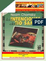 Libro No. 762. Las Intenciones Del Tío Sam. Chomsky%2C Noam. Colección E.O. Mayo 10 de 2014.