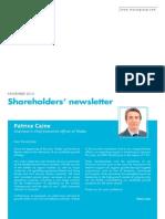 THALES Shareholders Newsletter November 2015