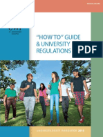 UWI Undergraduate Handbook