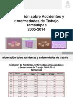 Estadistica de Accidentes Tamaulipas 2005-2014