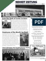 Street Volkswagen's November Newsletter