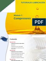 Compresores reciprocantes lubricacion
