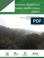 Funciones Alométricas Para Bosque Mediterraneo Chileno