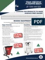 Surface Grinder Equipment in Brisbane, Sydney, Melbourne, Adelaide & Perth